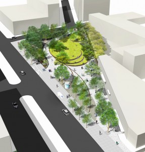 Concept Plan Thomas Balsely Associates